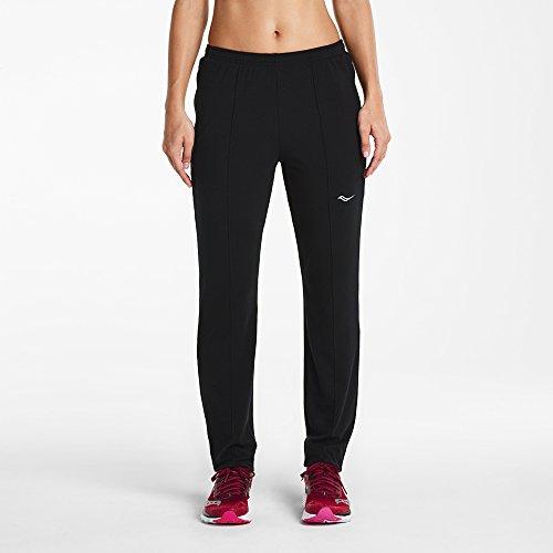 Saucony Women's Boston Pant, Medium, Black (Saucony Boston Running Pant)