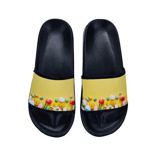 Mujer de 39 Talla Color por Irma00Eve M EU casa para Estar Zapatillas Negro Y5zwqF
