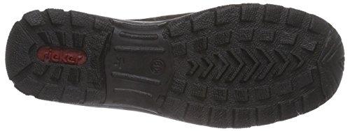 RiekerL7174 - Zapatillas de casa mujer gris - Grau (graphit/wine / 45)