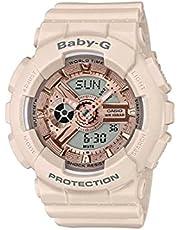 CASIO Baby-G Resin Band Analog Digital Watch for Women - Beige