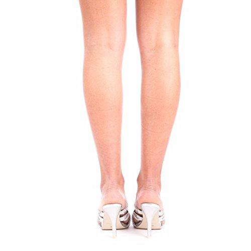 Ladies Women Slip On Diamante Stiletto Glitter Party Wedding Peep toe Sandals 3 4 5 6 7 8 Silver ueyNgh