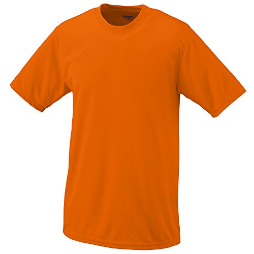 Reviews/Comments Augusta Sportswear MEN' WICKING TEE Power Orange