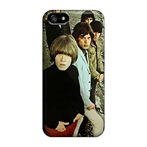 Iphone 5/5s EZQ15455vgDt Allow Personal Design Realistic Rolling Stones Series Shockproof Cell-phone Hard Cover -AlainTanielian