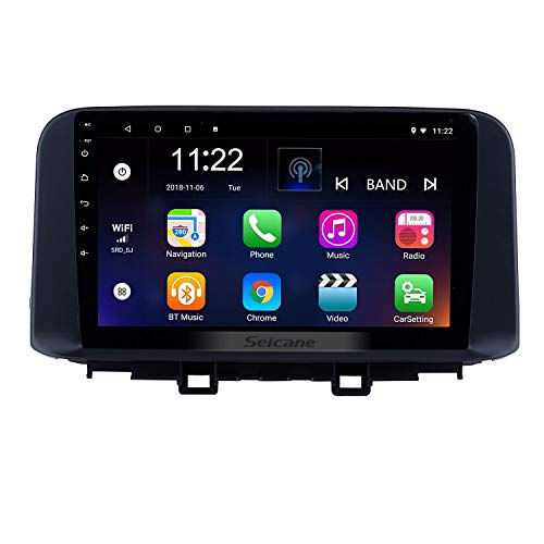 10.1 inch Android 8.1 HD Touchscreen GPS Navi Radio for Hyundai Encino KONAAUX 2018 2019 Bluetooth Support RDS Carplay 3G