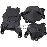 Alternator Engine Crank Case Protector Cover Set For SUZUKI GSXR1000 GSXR 1000 2009-2016