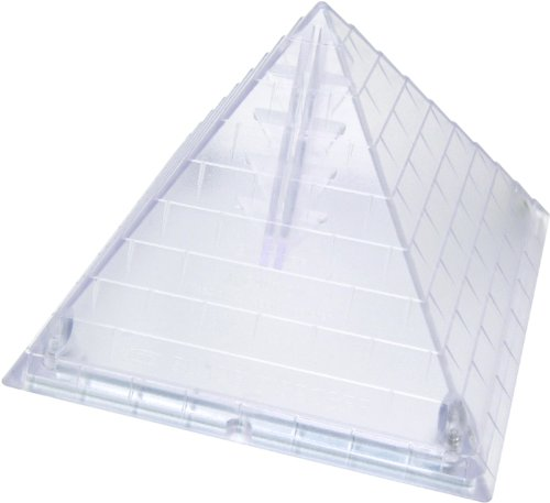 NT Cutter Pyramid Shaped Blade Disposal Case with Blade Snapper, 1 Case (ICD-400P)