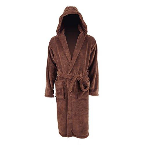 Velvet Costumes Assassin (Men's Home Bathrobe Assassin Costumes And Non-slip)