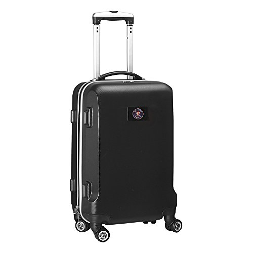 MLB Houston Astros Carry-On Hardcase Spinner, Black by Denco