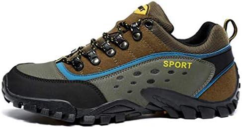 男性と女性のためのウォーキングシューズアウトドアトレッキング&ハイキングシューズカップル用ローキングブーツ滑り止めトラベルスニーカー (Color : Brown, Size : 40)