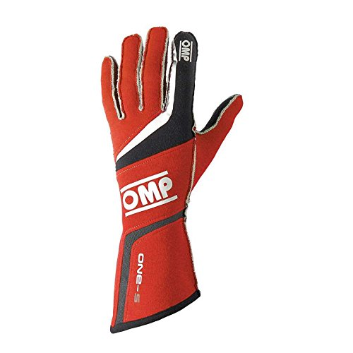 OMP (IB/755/R/XL One S Gloves, Red, X-Large