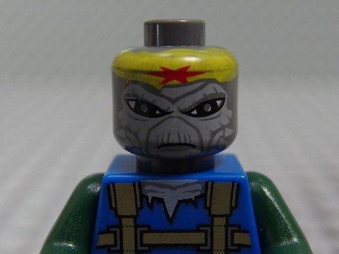 LEGO Star Wars - Minifigure Turk Falso x1 Loose (Grau Ferrari)