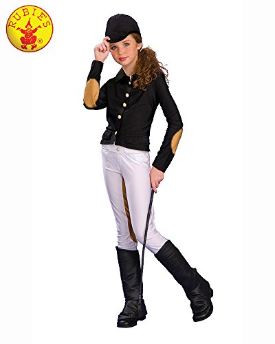 Rubies Deluxe Equestrienne Child Costume, Large, One -