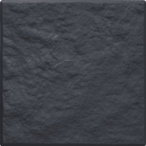 Multy Industries Multy Home MT5100000 4-Pack Stomp Stone, 12 by 12-Inch, Slate (Stone Rubber Patio Square)