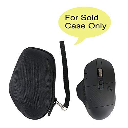 co2crea Hard Travel Case for Logitech G604 Lightspeed Wireless Gaming Mouse (Black Case)
