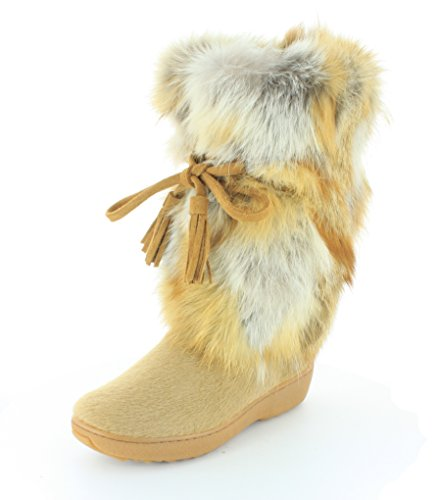 Beige Winter Boot - 36 ()