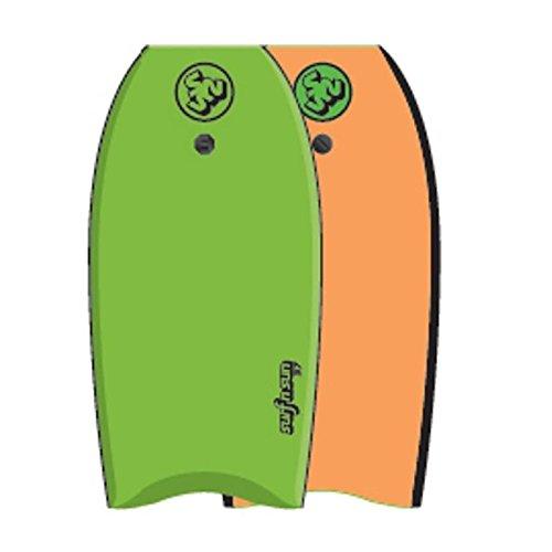 SURF & SUN Bodyboard Similar EPS 41' - Vert et orange fluo SURF N SUN 3323758798287