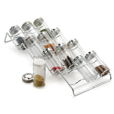 RSVP International 12-bottle In-Drawer Spice Rack