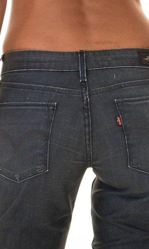 Jeans 5703 0 92 Levi de colour negro desgastado para mujer negro