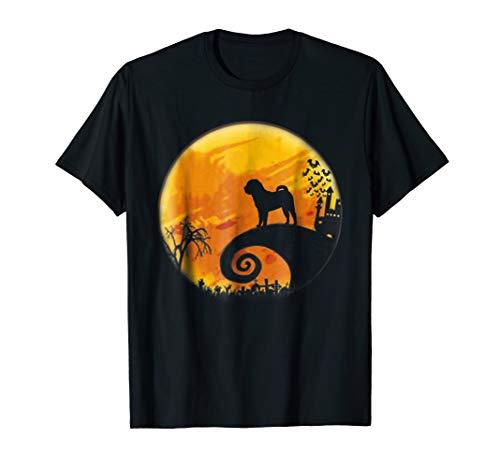 Chinese Shar-Pei Halloween T-Shirt Halloween Gift]()