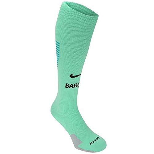 2016-2017 Barcelona Nike Third Socks (Green Glow)