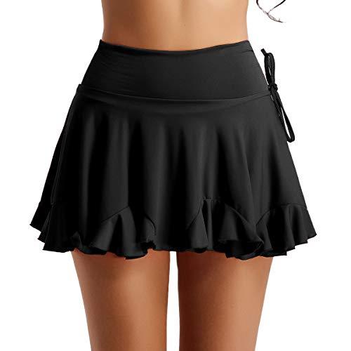 Yeahdor Women Latin Dance Dress Skirt Ballroom