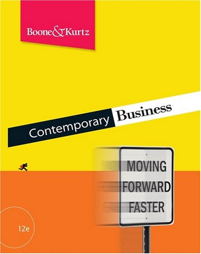 Contemporary Business, with Audio CD