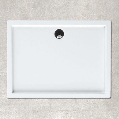 Plato ducha acrílico. 120x76x3,5 cm. Blanco.Incluye Válvula de 90 ...