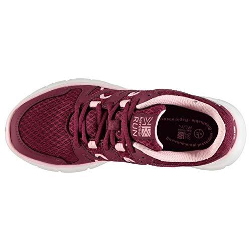 Baya correr Mujer para Pale Karrimor Duma Rosa Zapatos qBvRnWXxw