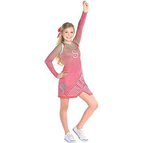 Costumes USA Z-O-M-B-I-E-S Addison Costume for Girls, Size Small, Includes a Shirt, a Skirt, and a Matching Hairbow ()