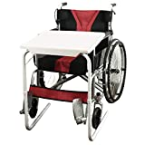 Wheelchair Tray Table Removable Padded Board Attachment Cup Holder Adjustable Desk tv Laptop Overboard for Senior Adult Eating arm Rest