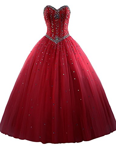 Quinceanera Princess Dresses A Formal Sweet line Formal Prom Long 15 Gowns Burgundy Dressyu qIAF4