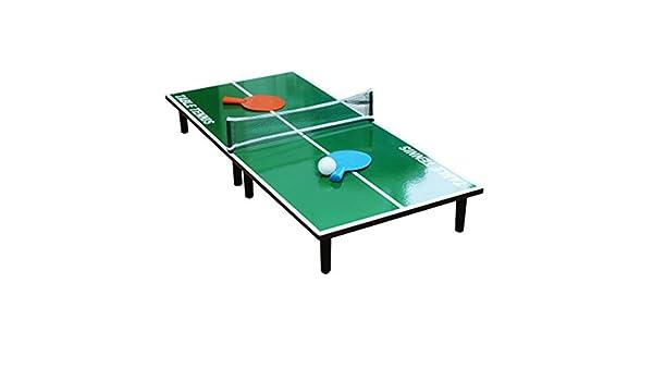 Juegos de mesa y accesorios Mini mesa de ping pong portátil de ...