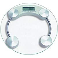 Digital weighing scale round shape