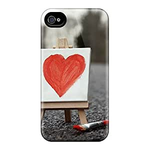 For EjDaWHT78nQLFP Love Protective Case Cover Skin/iphone 4/4s Case Cover