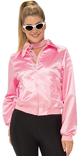 Rubie's Costume Co. Women's Grease, Pink Ladies Costume Jacket, As Shown, (Grease Movie Costumes)