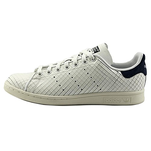 Blanco Leather Womens Adidas Smith azul Trainers Stan marino wRtqzgXq