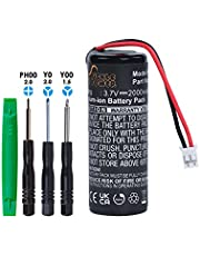 Pickle Power LIS1441 LIP1450 Battery Replacement for Sony Playstation 3 PS3 Move Motion Controller CECH-ZCM1E CECH-ZCM1U (Not for PS4 Move)