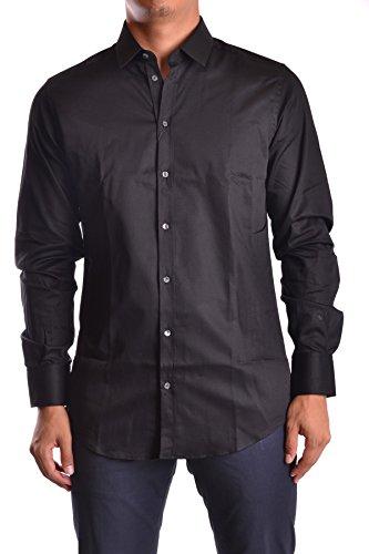 Dress Dolce Shirt Cotton Gabbana & (Dolce e Gabbana Men's Mcbi099117o Black Cotton Shirt)