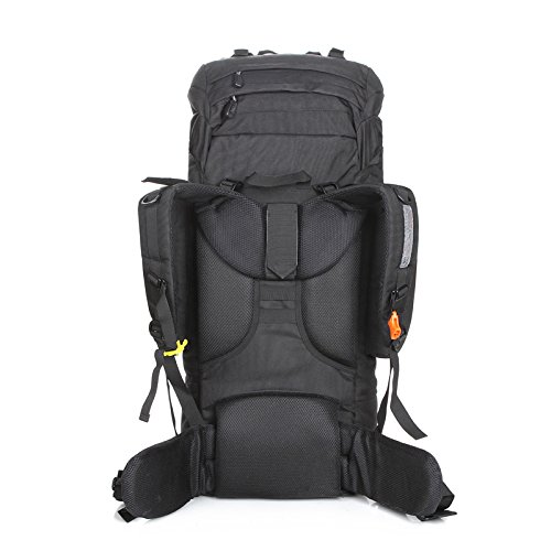 85LFreienbergsteigen bauscht taktischen Rucksack Schultertaschen männlich weiblich Tasche mit großer Kapazität Tarnung Rucksack Interner Rahmen Pack pJIfmkgTJ