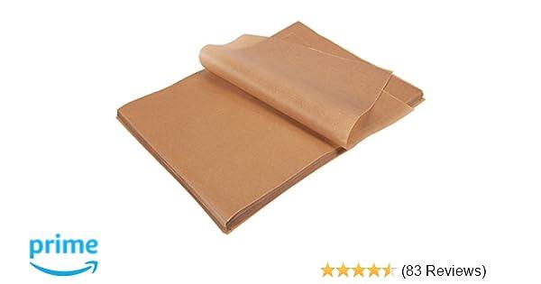 Amazon Com Parchment Paper Sheets 200 Count Precut Unbleached