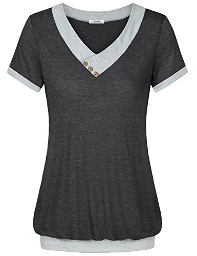 comfy-shirts-for-womenyoutalia-short-sleeve-tops-summer-pleated-flattering-blouse-tunic-shirts-for-j