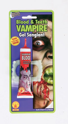 Fancy Dress Blood & Teeth Vampire Gel]()