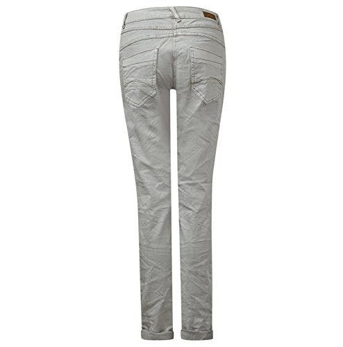 moonscape Donna 1571 Cecil Tapered Beige Jeans Egxwn7qI4