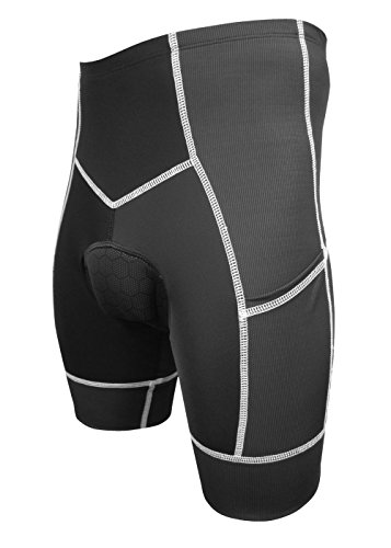 De Soto Sport DeSoto Men's 400-Mile Cycling Short (X-Large, - Forza Soto De