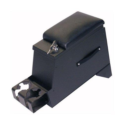 "Tuffy Security Products Security Console Series II 8"" Wide Black 1955-1995 Jeep Wrangler YJ, CJ5, Grand Wagoneer SJ # 012-01"
