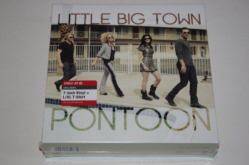 Little Big Town-Limited Edition Box-Includes- Pontoon / Leavin' In Your Eyes -Exclusive 7-Inch Vinyl & T-Shirt, L/XL Package (Little Big Town Pontoon Cd compare prices)