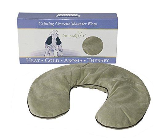 DreamTime Calming Crescent Shoulder Wrap, Sage - Embrace Body Dreamtime Wrap Warm