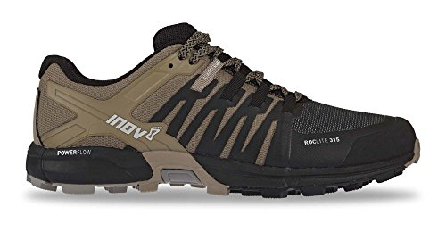 Inov8 Men's Roclite 315 Trail Running Shoes Black/Brown M11 & Headband Bundle
