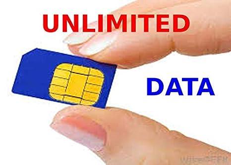 Tarjeta SIM con Datos ilimitados, teléfono y Texto Pago ...