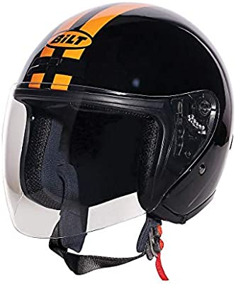 90c752a3 Amazon.com: Bilt Roadster Retro Helmet: Automotive